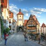 Blick auf den Marktplatz Rothenburg