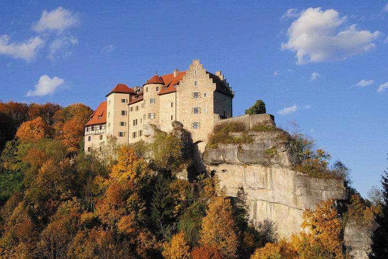 Ahorntal Burg Rabenstein Burgenstraße
