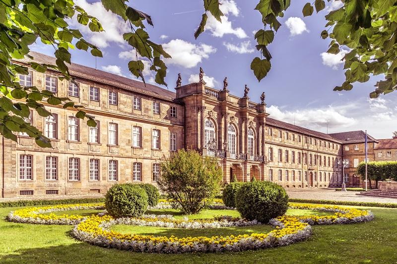 Neues Schloss Bayreuth Burgenstraße