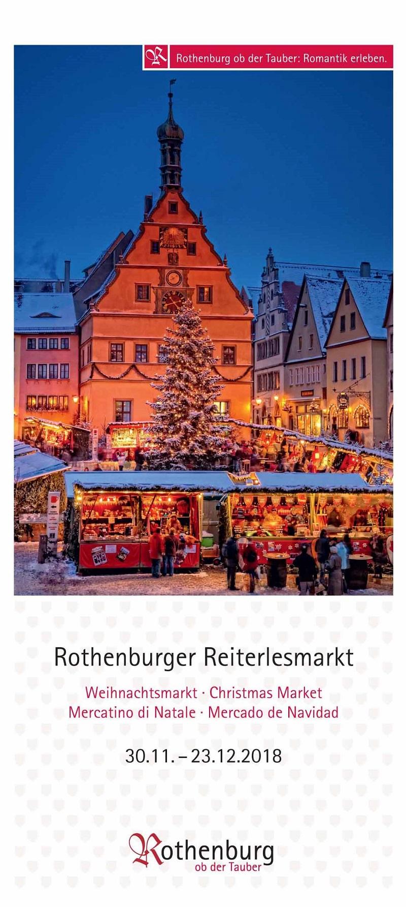 Vorschau Rothenburger Reiterlesmarkt 2018