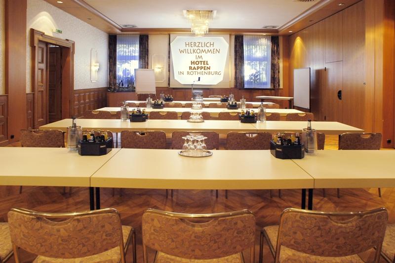 Tagen im Hotel Rappen Rothenburg ob der Tauber