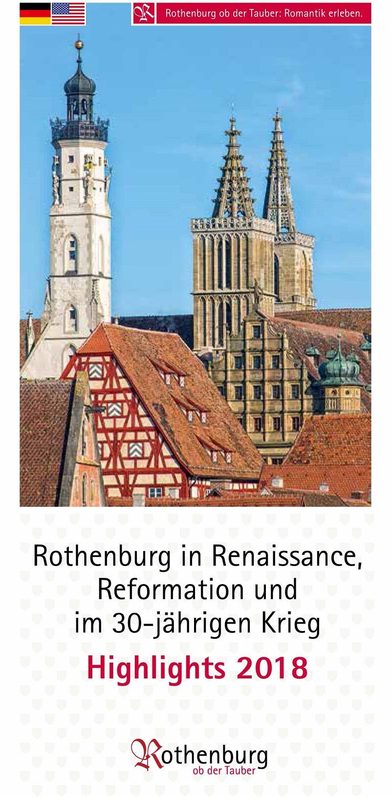 Rothenburg in Renaissance, Reformation und im Dreißgjährigen Krieg