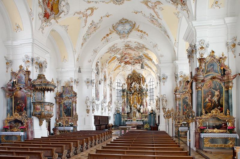 Stadtpfarrkirche Schongau Romantische Straße