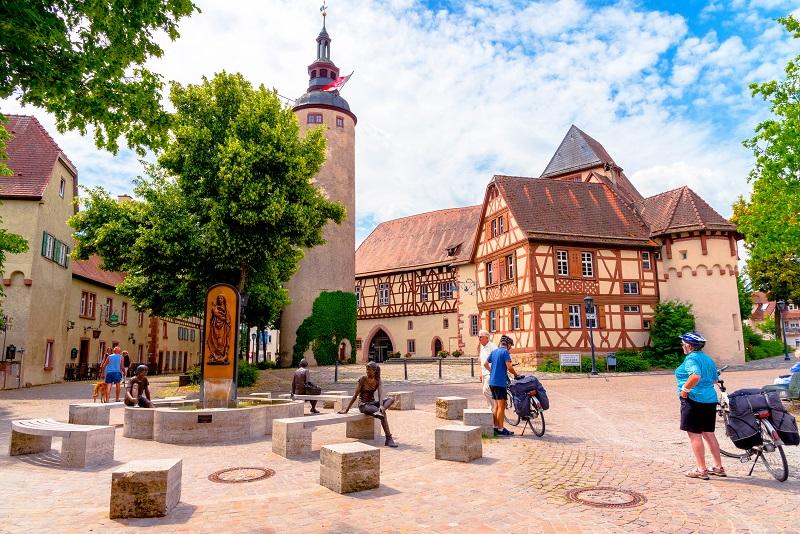 Das Schloss in Tauberbischofsheim