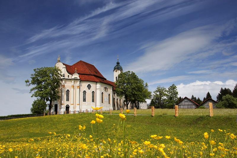 Wieskirche Romantische Straße