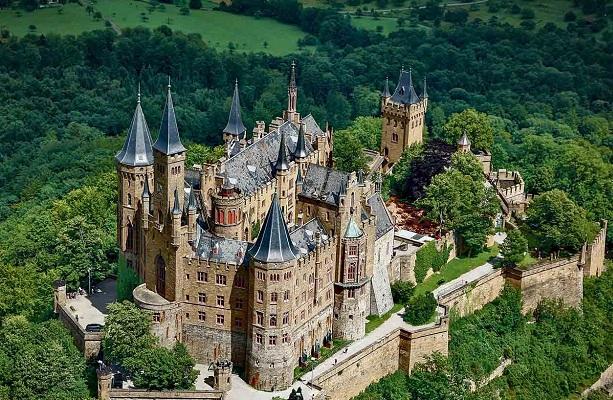 Burg Hohenzollern Hohenzollern-Orte