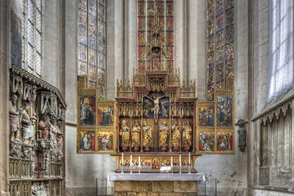 Herlin Altar Rothenburg ob der Tauber St. Jakob