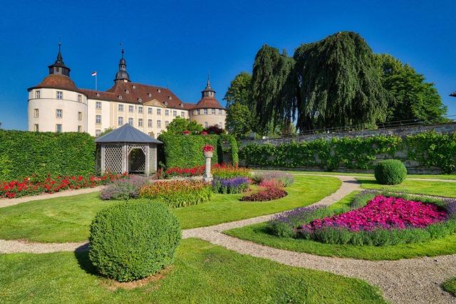 Schloss Langenburg Gartennetzwerk Hohenlohe