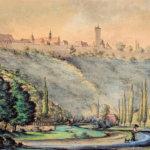 Motiv der Sammlung Klaus Berge - August Merz: Taubertal Reichsstadtmuseum Rothenburg ob der Tauber