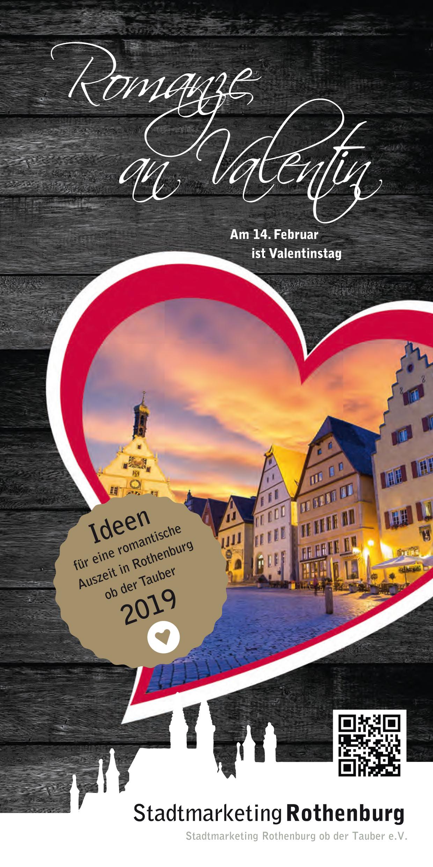 Flyer Romanze an Valentin 2019 Titelbilder