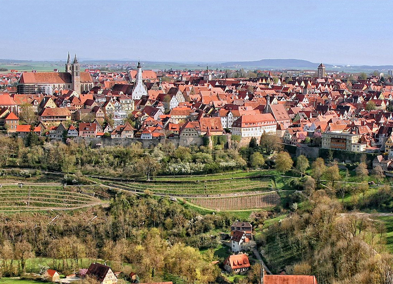 Stadtsilhouette | Rothenburg Tourismus Service