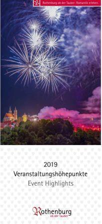 Veranstaltungskalender Rothenburg 2019