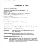 Titel Rothenburg Daten und Fakten