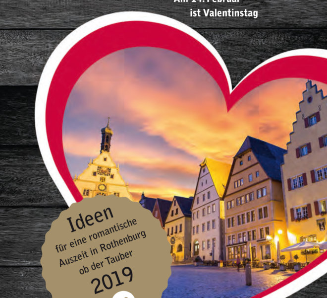 Romanze an Valentin 2019