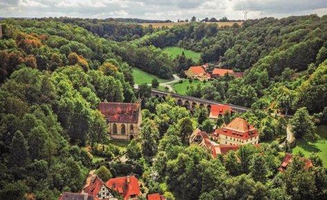 Rothenburg als Landschaftgarten