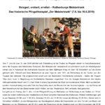 Belagert, erobert, errettet - Das Historische Festspiel Der Meistertrunk 2019 in Rothenburg ob der Tauber (7.6. bis 10.6