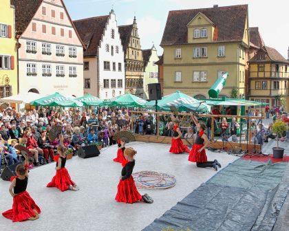 Jahreshöhepunkt in Rothenburg ob der Tauber: Stadtmosphäre