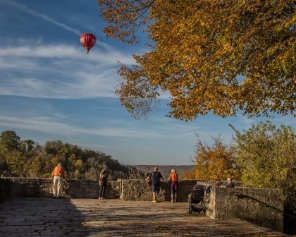 Ballon fahren in Rothenburg ob der Tauber