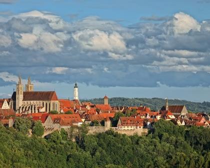 Jahreshöhepunkt Rothenburg - Taubertal Festival - Panoramablick