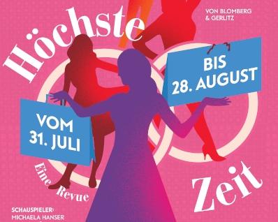 Jahreshöhepunkt Rothenburg - Toppler Theater 2019 - Höchste Zeit