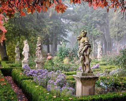 Jahreshöhepunkte Rothenburg - Pittoresk - Rothenburg als Landschaftsgarten - Burggarten