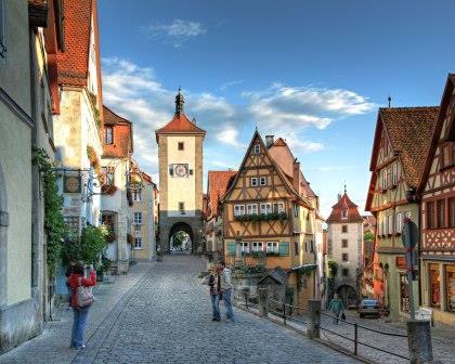 Lieblingsorte Rothenburg ob der Tauber - Plönlein