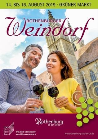 Broschüre Weindorf 2019