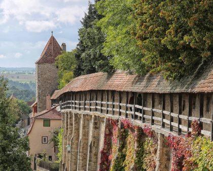 Stadtmauer erleben - Turmweg Rothenburg