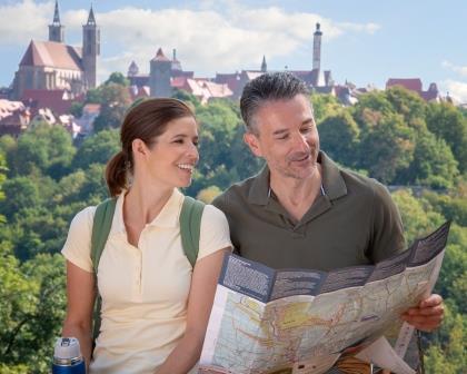 Wandern um Rothenburg ob der Tauber