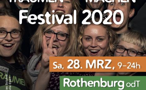 Träumen & Machen Festival in Rothenburg