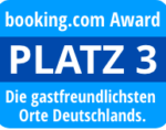 Booking.com Award - Platz 3
