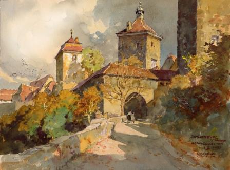 RothenburgMuseum - Gemälde Harrison Compton - RothenburgMuseum