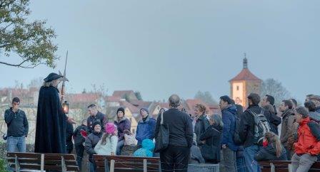 Nachtwächter in Rothenburg - Pfitzinger