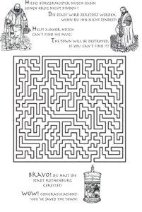 Rätsel Meistertunk - Malbuch