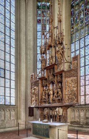St. Jakob in Rothenburg - Riemenschneider Heilig-Blut-Altar - Pfitzinger
