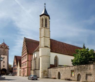 Heilig-Geist-Kirche in Rothenburg - Pfitzinger