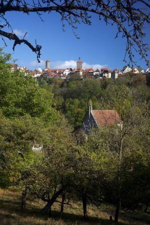 Kobolzeller Kirch im Taubertal bei Rothenburg - Bichler