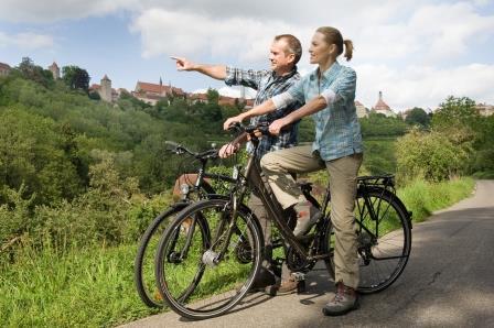 Radfahren in Rothenburg - Taubertal - Respondek