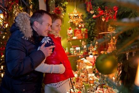 Einkaufen in Rothenburg - Winter - Respondek