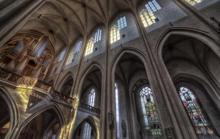 St. Jakob Rothenburg - Innenansicht - Pfitzinger