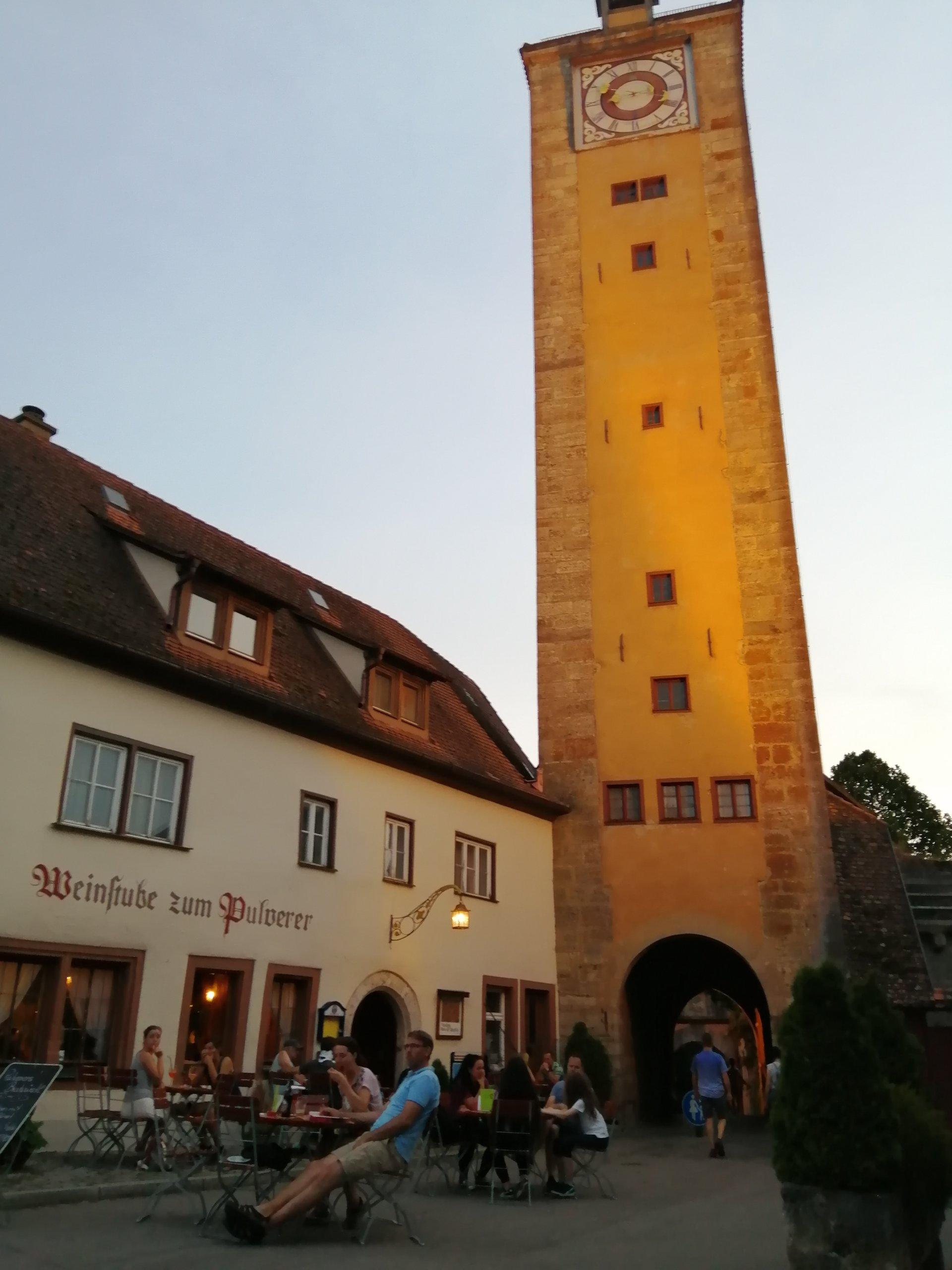 Draussen Geniessen Aussengastronomie In Rothenburg Ob Der Tauber