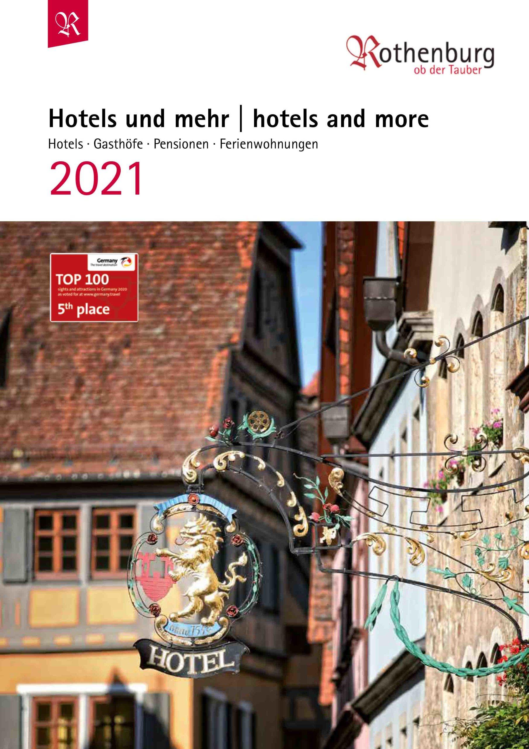 Hotelliste 2021