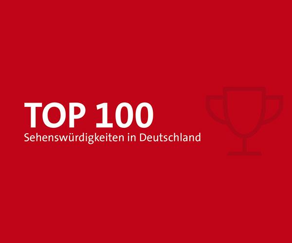 DZT Voting - TOP 100 Sehenswürdigkeiten in Deutschland