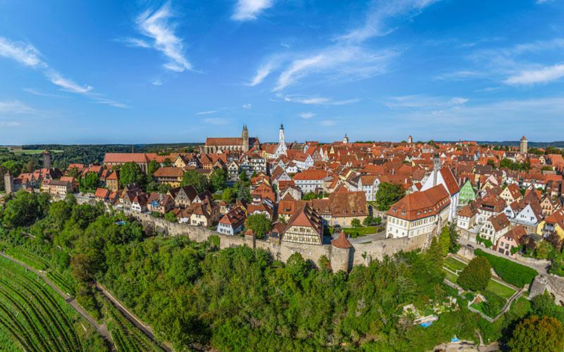 Ihr Urlaub im mittelalterlichen Rothenburg ob der Tauber