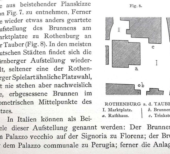Camillo Sittes - Städte-Bau nach seinen künstlerischen Grundsätzen (1889) beeinflusste international den malerischen Städtebau