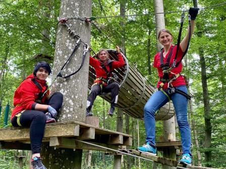 Das Team vom Kletterwald Rothenburg ob der Tauber